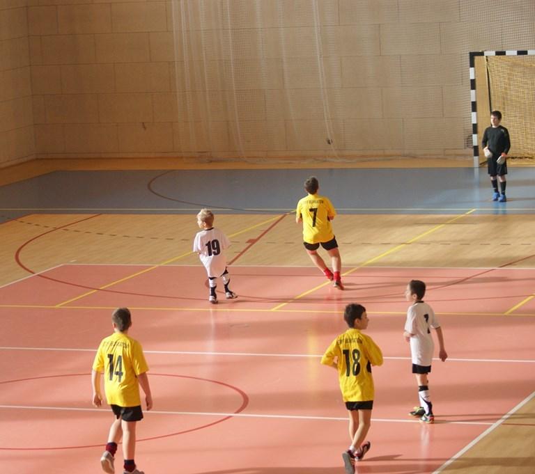 Strefa VI halowej piłki nożnej chłopców do lat 13