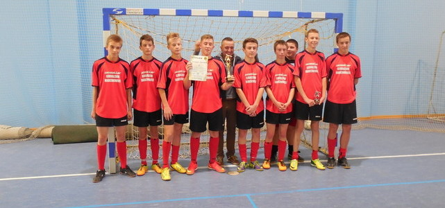 Turniej halowej piłki nożnej do lat 15