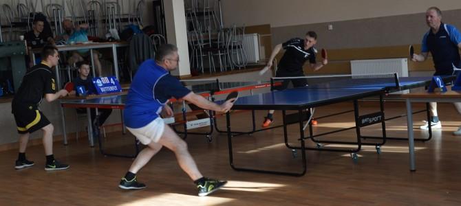 Zakończono rozgrywki Powiatowej Ligi tenisa stołowego