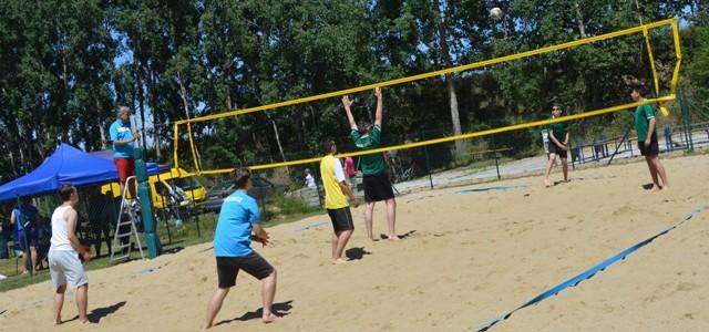 Młodzieżowy turniej piłki plażowej