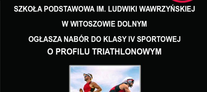 Nabór do klasy o profilu triathlonowym